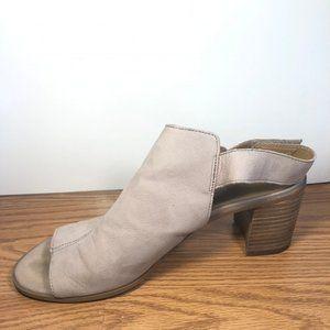 Franco Sarto open toed wedge sandal